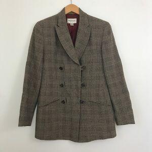 Vintage Emanuel Wool Double Breasted Blazer